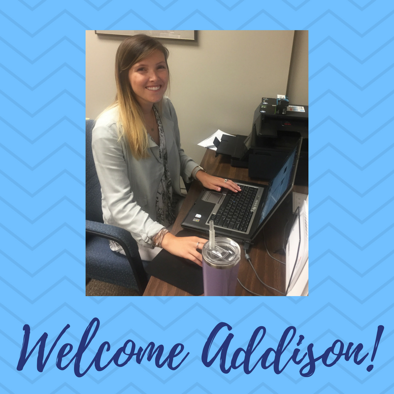 Welcome Addison!